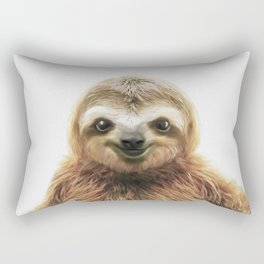 Young Sloth Rectangular Pillow