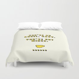 You're an Angel, Baby Duvet Cover