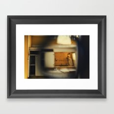 someone else's kitchen Framed Art Print