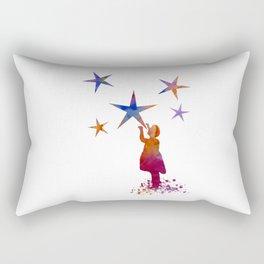 Stars art Rectangular Pillow