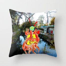 Trunks in The Park Throw Pillow