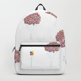 Balloons Watercolor Pattern Backpack