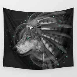 Don't Define the World (Chief of Dreams: Wolf) Tribe Series Wall Tapestry