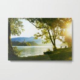 Bled Lake, Slovenia Metal Print