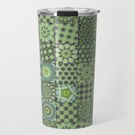Green Valley Quilt Travel Mug