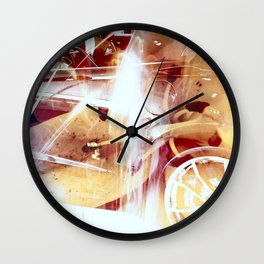 """""""Her Name Is Vette, And She Not Little"""" Wall Clock"""