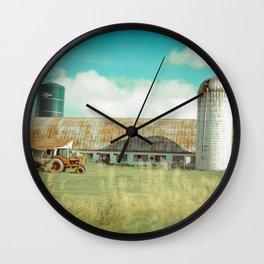 Roadside Vermont Wall Clock