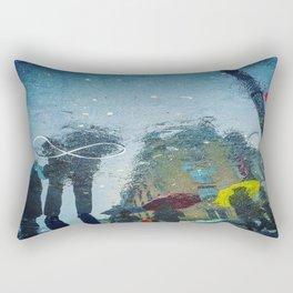 4 Umbrella Ladies Rectangular Pillow