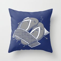 'sleep'pers Throw Pillow
