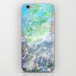 Aqua 7 iPhone Skin
