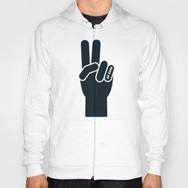 Peace Sign, Do Good B&W Hoody