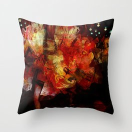 French cancan Throw Pillow