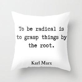 9     Karl Marx Quotes   190817 Throw Pillow