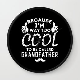 Father's Day Wall Clock