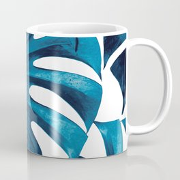 Tropical Monstera Leaves Dream #8 #tropical #decor #art #society6 Coffee Mug