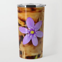 Liverwort flower Travel Mug