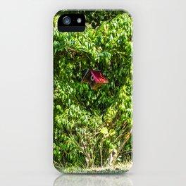 Heart Bush iPhone Case