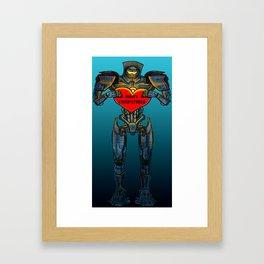 Drift Compatible Framed Art Print