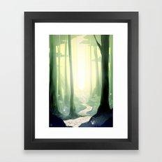 Kokiri Forest Framed Art Print