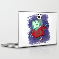 bmo Laptop & iPad Skins featuring BMO Soccer by AbigailC