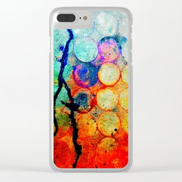Circles: Evidence Clear iPhone Case