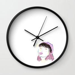 female artwork  Wall Clock