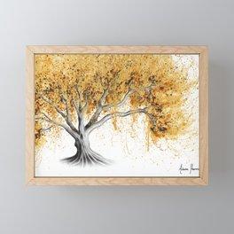 The Golden Tree Framed Mini Art Print