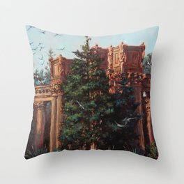 What Comes From Above Throw Pillow