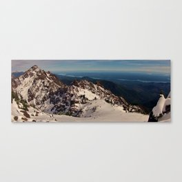 Hood Canal and Mount Washington Canvas Print