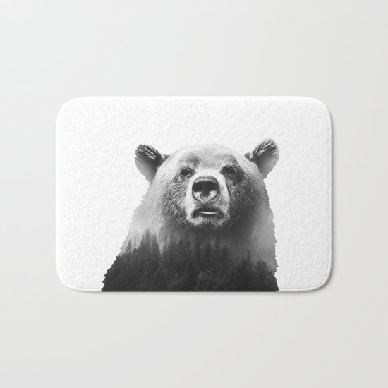 Big Bear #3 Bath Mat