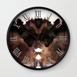 Test de Rorschach III Wall Clock