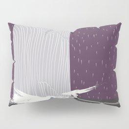 Japan Waterfall Pillow Sham