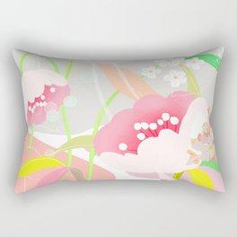 rapture: abstract floral. Rectangular Pillow