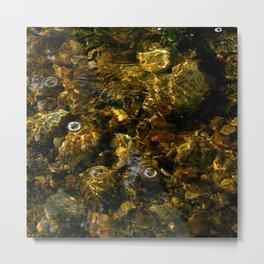 Idyllwild Grottos - Rocks and Reflections Metal Print