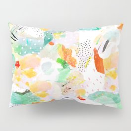 toto: abstract painting Pillow Sham