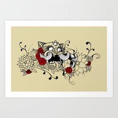 cọp Art Print