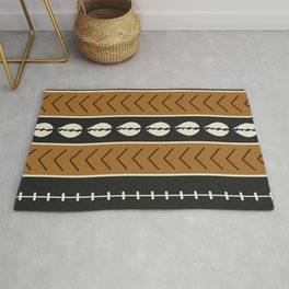 Let's play mudcloth Rug