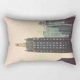 Carbide and Carbon Building Chicago Rectangular Pillow