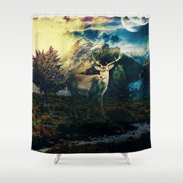 Deer VI Shower Curtain
