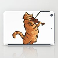 fat iPad Cases featuring Fat Rascal by LookSeeMake