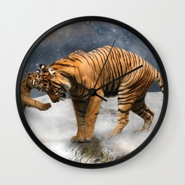 Tigers Wall Clock