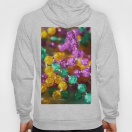 Neon purple yellow green colorful colors beads Hoody