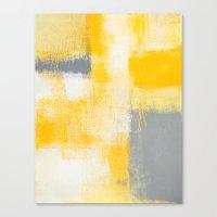 breakfast Canvas Prints featuring Breakfast by T30 Gallery