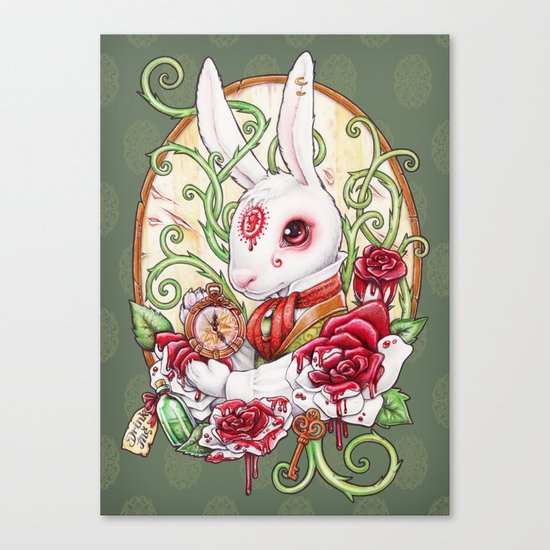 Rabbit Hole Canvas Print