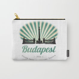Hősök tere - Heroes' Square - Budapest, Hungary Carry-All Pouch
