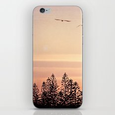 A beautiful day's end iPhone & iPod Skin