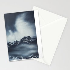 everlasting mountains Stationery Cards