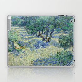 Olive Orchard by Vincent van Gogh Laptop & iPad Skin