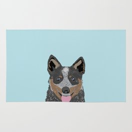 Kellan - Cattle Dog gifts for dog lovers and australian cattle dog gifts for dog person Rug