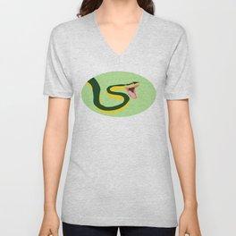 Snake Unisex V-Neck